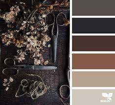 farbe braun kombinieren dunkle farben palette brown