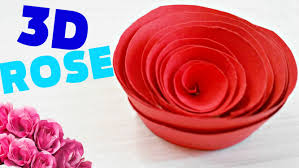 How To Make A FlowerROSE OUT OF PAPER Origami Easy Steps For Kids Beginners