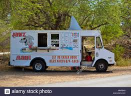 100 Truck For Sale On Maui A Food Truck Of Tacos With A Decorative Shark Fin Hawaii USA