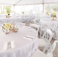 100 Event Folding Chair White S Athens Atlanta Lake Oconee Rental