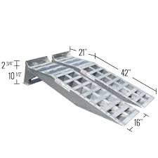 Heavy Duty Aluminum Truck Service Ramps 7,000 Lbs. Capacity With ... 16000 Lb Rhino Vehicle Ramps Princess Auto Folding Large Dog Pet Ramp Portable Foldable Wide Heavy Duty Light 20 Ton Truck Youtube 12000 Lb Plastic Suv Trailer Car Oil Change Alinum Loading Bridge Adapter For Sale Bwise Dlp Series Heavyduty Dump Triaxle W Hydraulic Service Rchampcomau Champ And Platforms Other Equipment Promech Oxlite Alinum Loading Ramps For Atv Lawn Mowers Motorcycles And More Heavy Duty Cattle Loading Ramp Norton Livestock Handling Solutions