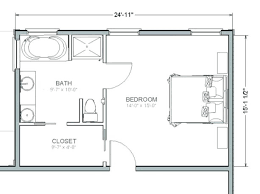 7 inspiring master bedroom plans with bath and walk in