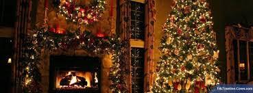 Christmas Tree Beautiful Fireplace