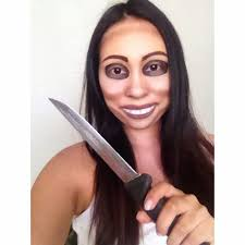 Purge Halloween Mask Couple by Denise Chavez The Purge Makeup Makeup Pinterest Makeup