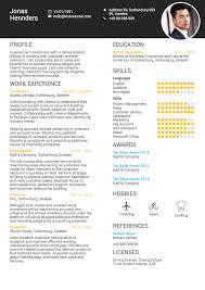 LinkedIn Import Resume Summary Sample