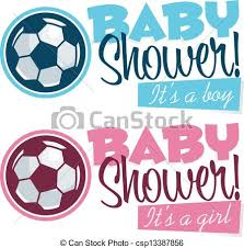 Baby Shower Logo by Clipart Vector Of Soccer Baby Shower Banners Baby Shower Banners