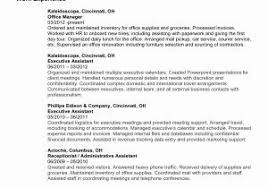 Accounting Resume Objective Inspirational Student New Career Examples Of