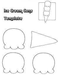 Free Printable Ice Cream Template