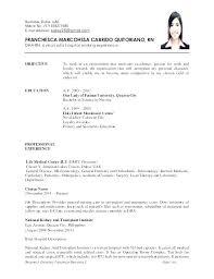 Registered Nurse Sample Resume Emergency Room Job Description