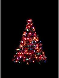 Pre Lit Incandescent Artificial Christmas Tree With 200 Multi Color Lights 3ft