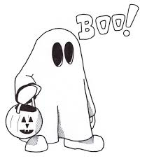 Sheets Ghost Coloring Page 29 In Free Kids With