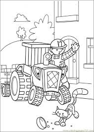 Coloring Pages He Builder 002 Cartoons Bob The