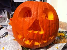Dirty Pumpkin Carving Pictures by Boo Hoo A City Kids U0027 Halloween My Judy The Foodie