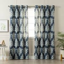 Nicole Miller Home Two Curtain Panels by Machine Wash Linen Curtains U0026 Drapes For Less Overstock Com