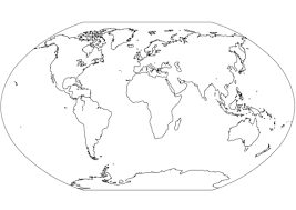 Click To See Printable Version Of World Map Coloring Page
