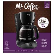Mr CoffeeR 12 Cup Switch Coffee Maker Black DW13 RB Target