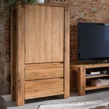 79x155x45 wohnzimmer schrank aus eiche massivholz tailuv