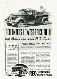 1937 Reo Truck Ad-02 | Ads Old & New | Pinterest | Ads, Cars And ... 1948 Reo Speed Wagon Pickup Truck Chevy V8 Powered Youtube Speedy Delivery 1929 Fd Master Reo M35 6x6 Us Military Truck Sound 1927 Boyer Fire Hyman Ltd Classic Cars Curbside 1952 F22 I Can Dig It Rare Short 3 Yard Garwood Dump Our Collection Re Olds Transportation Museum Vintage Truck Speedwagon 1947 1946 1500 Pclick Diamond Trucks Rays Photos Worlds Toughest 1925 For Sale Classiccarscom Cc1095841 8x4 Tilt Tray