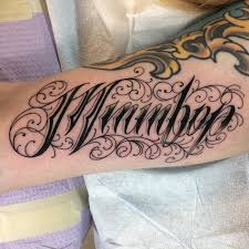 110 Best Tattoo Lettering Designs & Meanings 2018