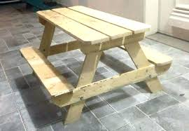 Handmade Tables Made Out Of Pallets Wooden Pallet Picnic Table Coffee