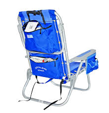 Big Lots Folding Beach Chairs by Amazon Com Rio Ultimate Backpack Beach Chair W Cooler Pouch