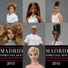 MADRID FASHION DOLL CONVENTION 2015 OOAKs BY CARLYLE NUERA