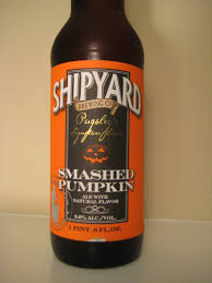 Imperial Pumpkin Ale by Shipyard Smashed Pumpkin Ale First Pour Wine