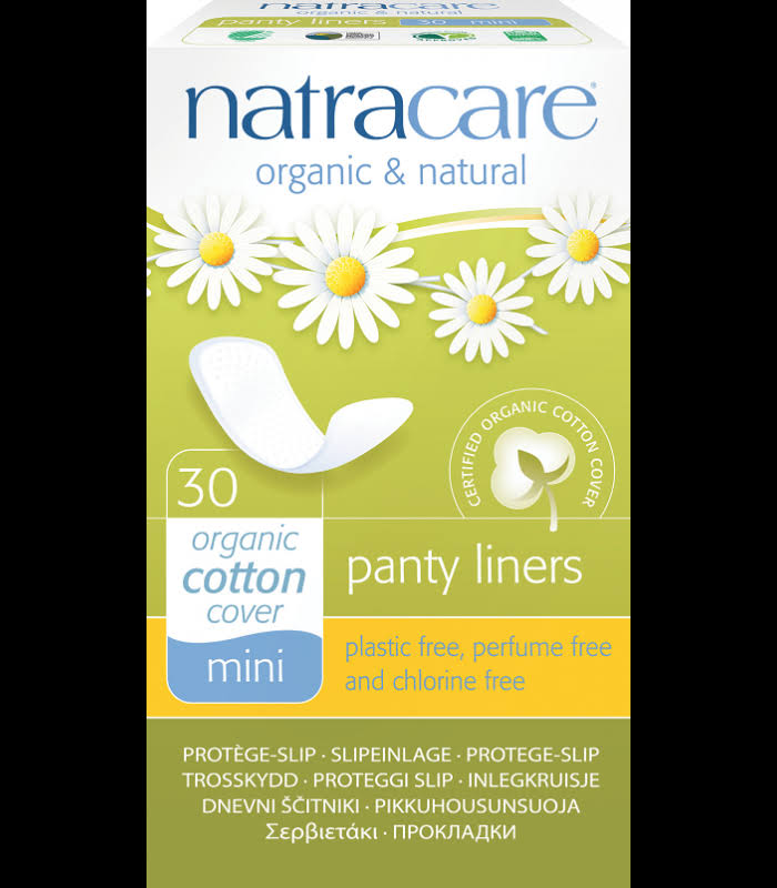 Natracare Mini Panty Liners - 30 Pack
