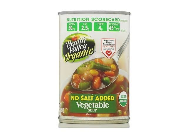 Health Valley Organic Soup - Vegetable