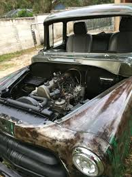 100 Truck Turbo 1956 Dodge Truck Turbo Diesel OM617 Hot Rod Dodge Trucks Dodge