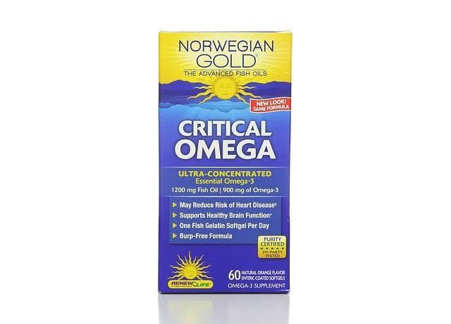 Norwegian Gold Critical Omega Renew Life 60 Softgel
