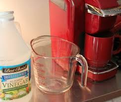You Will Need White Vinegar And Water I Use A Measuring Cup With Spout When Put In My Mini Keurig For Coffee Or Clean It