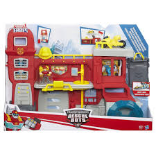 Playskool Heroes Transformers Rescue Bots Fire Headquarters - £50.00 ...