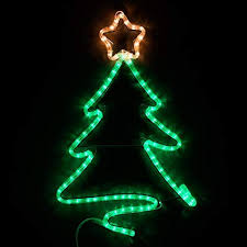 LED Christmas Decorations Outdoor Rope Light 24quot