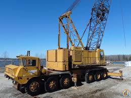 100 Truck Mounted Cranes Sold American 8450 150Ton Crane At Port In North Mississippi
