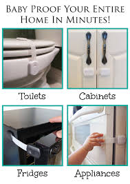Drill In Cabinet Door Bumper Pads by Child Safety Locks For Baby Proofing Cabinets Drawers