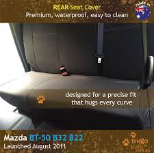REAR Seat Cover (MB11R) - Dingo Trails