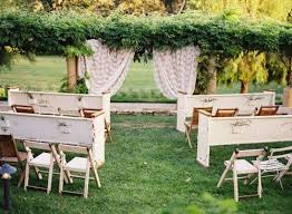 Outdoor Wedding Seating Ideas