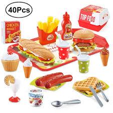 beebeerun 40 stück küchenspielzeug für kinder spielzeug 3