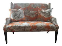 Ballard Designs Toile Chinoiserie Upholstered
