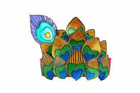 VIEW IN GALLERY Krishna Peacock Crown