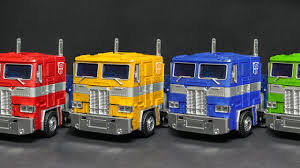 Transformers G1 Optimus Prime Convoy Stop Motion 8 Color Change ...