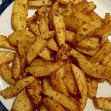 maison au four frites maison cuit au four a l huile d olive paprika doux et