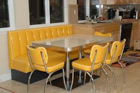 Amazing Ideas Booth Style Dining Room Tables Kitchen Table Seating Home Furniture Design Pertaining To