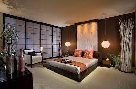 asiatisch inspirierte wohnideen schlafzimmer design
