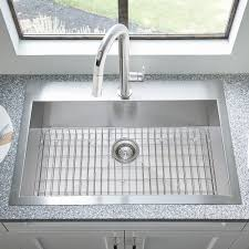 33x22 Stainless Steel Sink Drop In by Edgewater 33x22 Stainless Steel Kitchen Sink American Standard