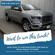 WIN A 2019 RAM PICKUP TRUCK!!!! Head... - My Columbia Basin | Facebook Win A Truck Tedlifecustomtrucksca Harbor Trucks New Nissan Dealership In Port Charlotte Fl 33980 A Truck And Cash Diamond Jo Northwood Ia Grant Enfinger Scores First Series Win Chase Field Is Cut To Toyota Sweepstakes To Benefit Road 2 Recovery Foundation Racer X Enter Cadian Food Festival Prize Pack 935 The Move Brett Moffitt Claims Hometown Nascar Swx Right Win Year Lease Of 2019 Gmc Sierra 1500 Truck Country 1073 Bell Overcomes Spin Race At Kentucky Wsyx Fan Fest Fords Register Edges Jimmy Sauter Michigan For 4th Chevrolet Colorado Motor Trend 2016 The Year Art