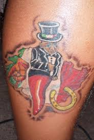 Italy Symbol OF Good Luck Tattoo