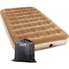 Coleman Twin Sized Flocked Air Bed Walmart