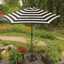 Walmart Patio Tilt Umbrellas by Better Homes And Gardens 9 U0027 Round Umbrella Club Stripe At Walmart